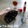 recycled make up bag diy