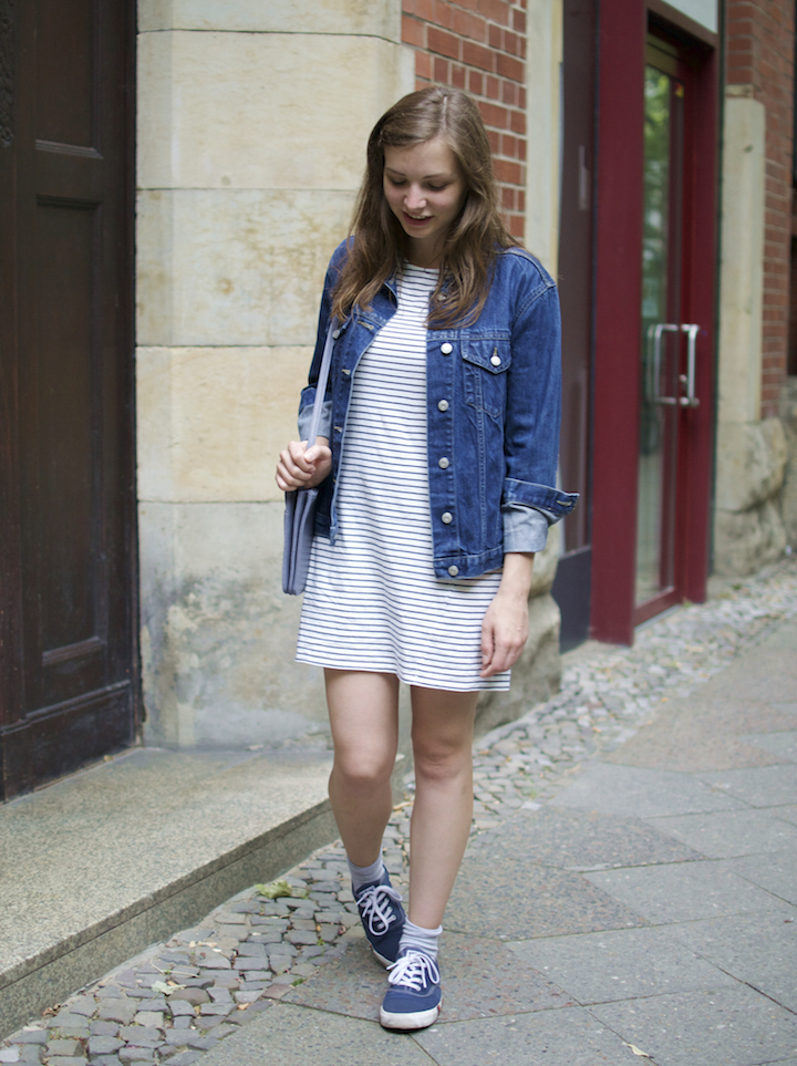 people-tree-stripe-dress-vintage-jeans-jacket-1
