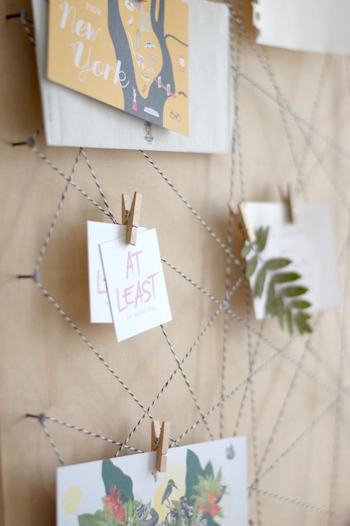 at least pinnwand diy memoboard selber machen. Black Bedroom Furniture Sets. Home Design Ideas