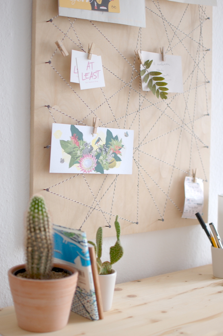 At least pinnwand diy memoboard selber machen - Fotos pinterest ...