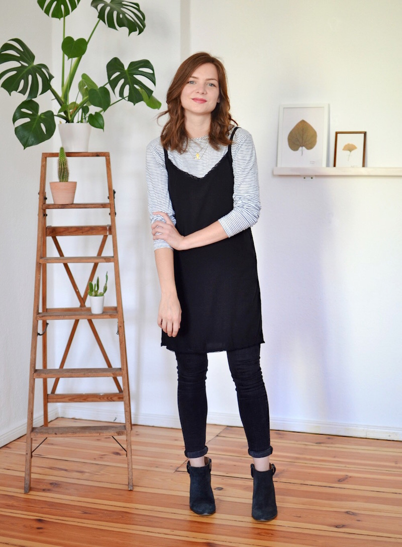 capsule wardrobe experiment outfit 1
