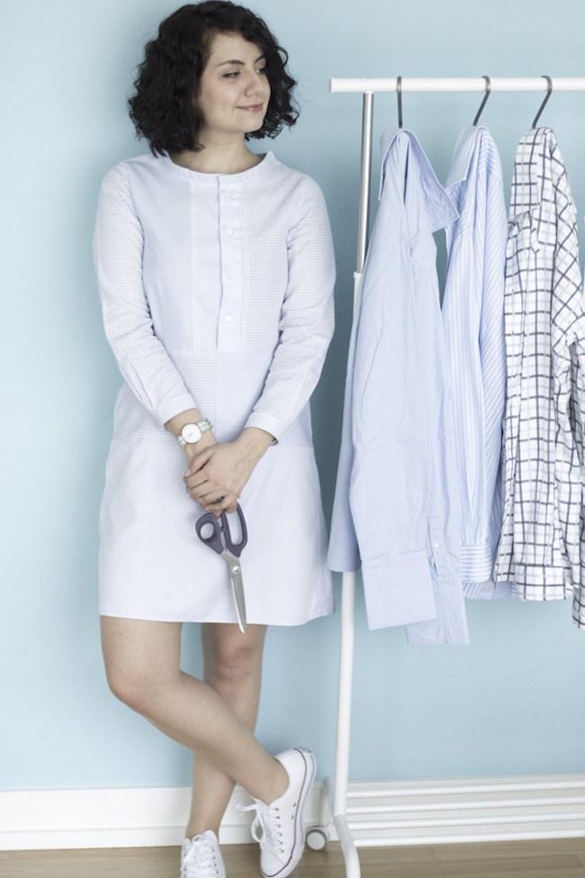 A-Linienkleid-Refashion-aus-alten-Hemden-Tweed-Greet